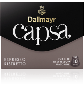 Dallmayr Capsa Ristretto, συμβατή κάψουλα Nespresso 10τεμ.
