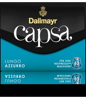 Dallmayr Capsa Lungo Azzuro, συμβατή κάψουλα Nespresso 10τεμ.