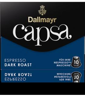 Dallmayr Capsa Dark Roast, συμβατή κάψουλα Nespresso 10τεμ.