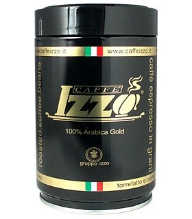 Izzo 100% Arabica Gold σπυρί 250γρ.