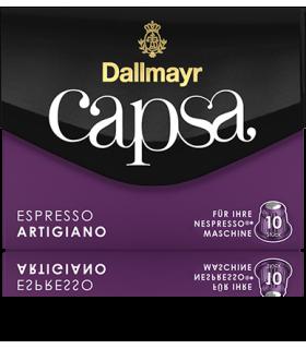 Dallmayr Capsa Artigiano, συμβατή κάψουλα Nespresso 10τεμ.