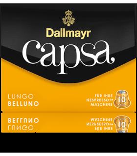 Dallmayr Capsa Lungo Belluno, συμβατή κάψουλα Nespresso 10τεμ.