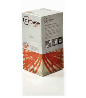 Cortese cagge, χάρτινες ταμπλέτες espresso 50τεμ