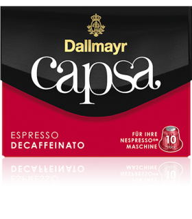 Dallmayr Capsa Decaffeinato, συμβατή κάψουλα Nespresso 10τεμ.