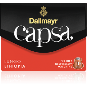 Dallmayr Capsa Ethiopia, συμβατή κάψουλα Nespresso 10τεμ.
