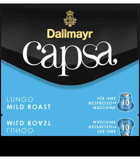 Dallmayr Capsa Lungo Mild Roast, συμβατή κάψουλα Nespresso 10τεμ.