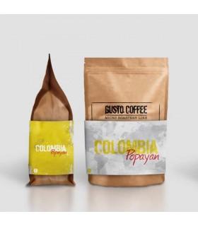 Gusto Colombia Popayan καφές espresso σε σπυρί 250γρ.