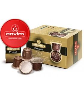 Covim Gold 100% Arabica συμβατή κάψουλα Nespresso 10τεμ.
