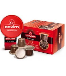 Covim Granbar συμβατή κάψουλα Nespresso 10τεμ.