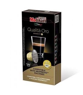 Molinari iTESPRESSO Qualita Oro συμβατή κάψουλα Nesrpresso - 10 κάψουλες