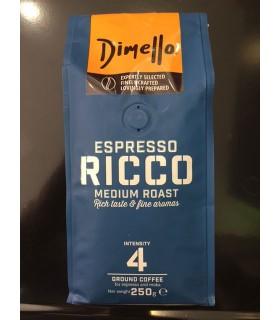 Dimello Ricco Espresso αλεσμένος 250γρ