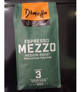 Dimello Mezzo Espresso αλεσμένος 250γρ
