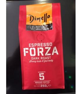 Dimello Forza Espresso αλεσμένος 250γρ