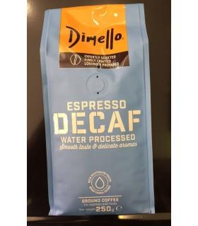 Dimello Decaffeine Espresso αλεσμένος 250γρ