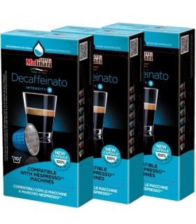 Molinari iTESPRESSO Decaffeinato συμβατή κάψουλα Nesrpresso - 10 κάψουλες