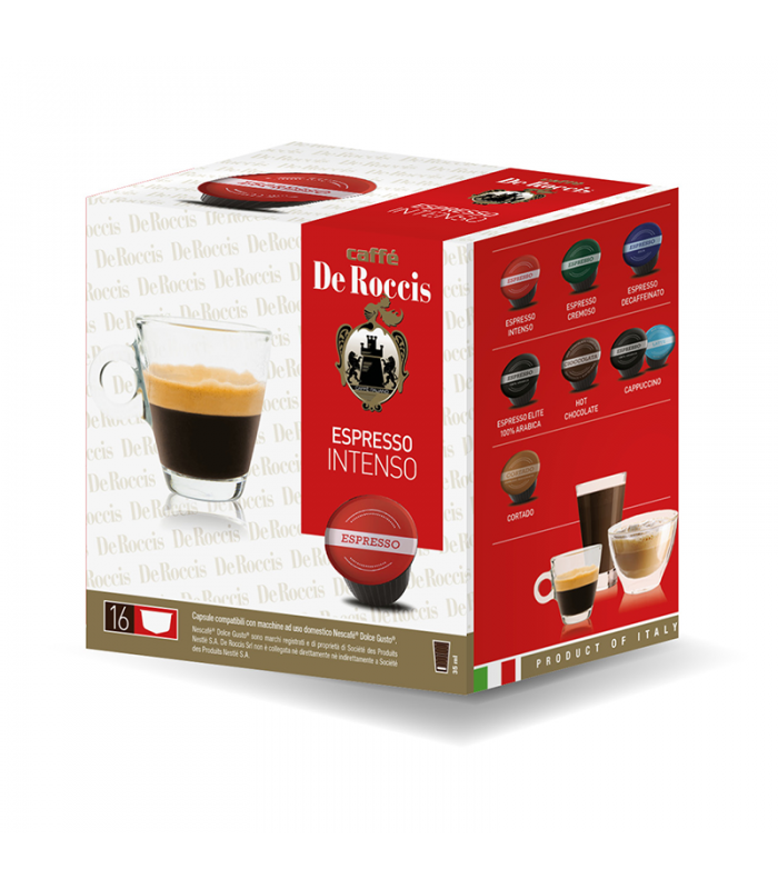 De Roccis Intenso συμβατή κάψουλα με Dolce Gusto®