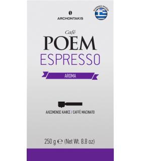 POEM Espresso Aroma αλεσμένος 250γρ