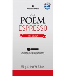 POEM Espresso 100% Arabica αλεσμένος 250γρ