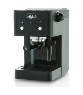 Gran Gaggia Style LSB Μαύρη Μηχανή espresso
