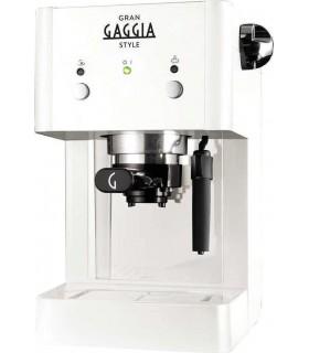 Gran Gaggia Style LSB Λευκή Μηχανή espresso