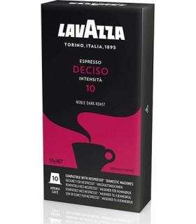 Lavazza Deciso συμβατή κάψουλα nespresso 10τμχ.