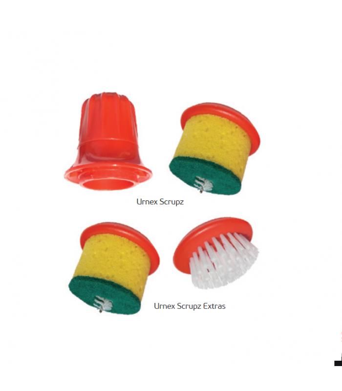 Urnex Scrupz Ανταλλακτικό Σφουγγαράκι και Βουρτσάκι