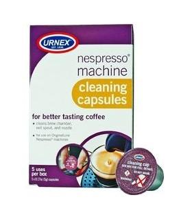URNEX Κάψουλες Καθαρισμού Μηχανών Nespresso