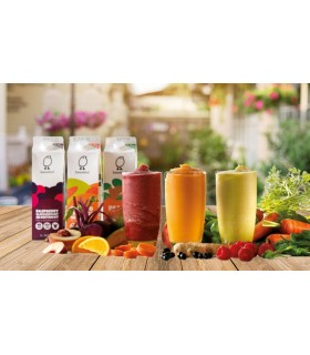 Sweetbird Smoothie Λαχανικών Peach, Spinach & Ginger 1lt