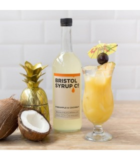 Bristol Pineapple & Coconut Syrup 750ml