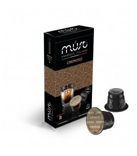 Cremoso - 10 Συμβατές Κάψουλες Nespresso®