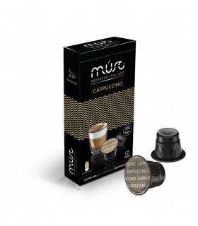 Must Cappuccino - 10 Συμβατές Κάψουλες Nespresso®