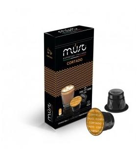 Must Cortado - 10 Συμβατές Κάψουλες Nespresso®