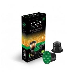 Must Orzo Biologico - 10 Συμβατές Κάψουλες Nespresso®