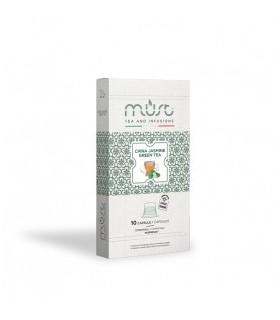 China Jasmine Green Tea - 10 Συμβατές Κάψουλες Nespresso®
