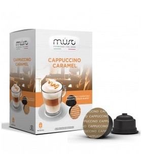 Must Cappuccino Caramel - 16 Συμβατές Κάψουλες Dolce Gusto®