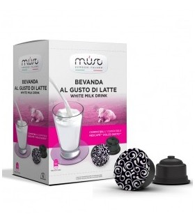 Must White Milk Drink - 16 Συμβατές Κάψουλες Dolce Gusto®