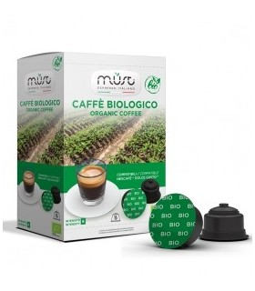 Must Biologico Coffee - 16 Συμβατές Κάψουλες Dolce Gusto®