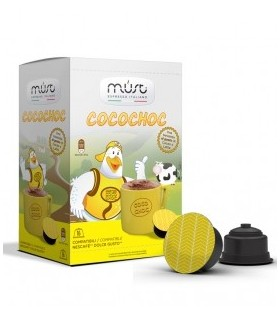 Must CocoChoc - 16 Συμβατές Κάψουλες Dolce Gusto®