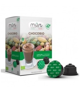 Must ChocoBio - 16 Συμβατές Κάψουλες Dolce Gusto®