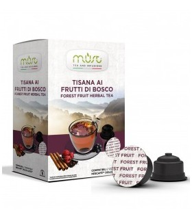 Must Forest Fruit Herbal Tea - 16 Συμβατές Κάψουλες Dolce Gusto®