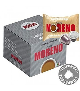 Moreno Caffe, Espresso Bar συμβατή κάψουλα Nespresso 10τεμ.