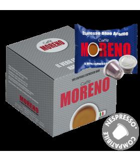 Moreno Caffe, Blue Arome συμβατή κάψουλα Nespresso 50τεμ.