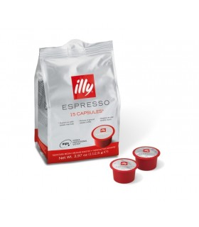 Κάψουλες MPS illy medium roasted cap bag 15τεμ