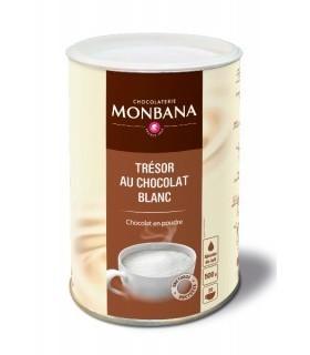 Σοκολάτα Monbana Λευκή 500γρ