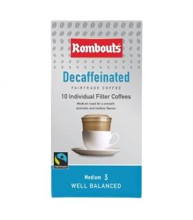 ROMBOUTS DECA Καφές φίλτρου ντεκαφεϊνέ σε ατομικές μερίδες