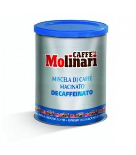 Molinari espresso καφές αλεσμένος Decaffeinato 250γρ.