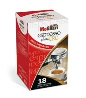 Molinari Oro espresso σε χάρτινες ταμπλέτες 18τεμ.