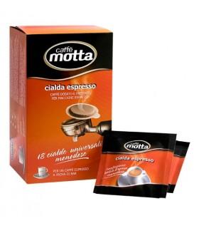 Motta χάρτινες ταμπλέτες espresso, 18τεμ.