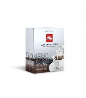 illy Καφές φίλτρου σε 5 ατομικές μερίδες