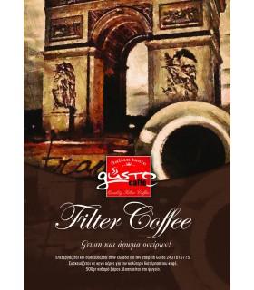Gusto καφές φίλτρου 500γρ.